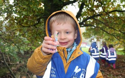 Outdoor learning with Kids Allowed: forest school activities