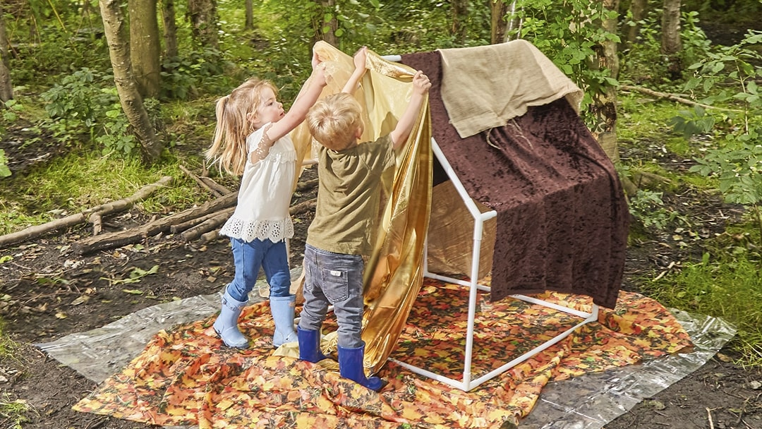 The art of den building by NDNA