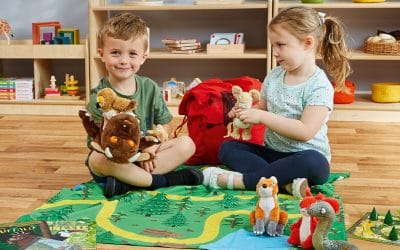 Travelling Tales story sacks prove to be a World Book Day hit