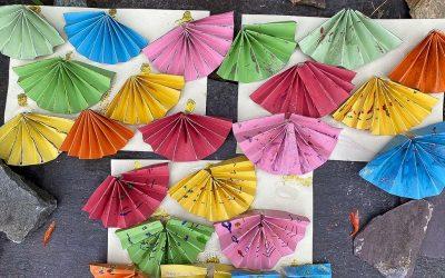 Diwali craft: Glitter Divas