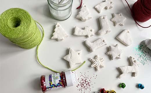 Preschool Christmas Crafts: Clay tree decorations - Hope ...