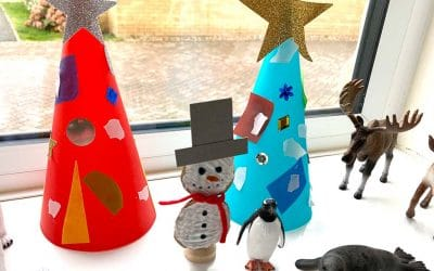 Christmas Crafts: Arctic Adventure Scene