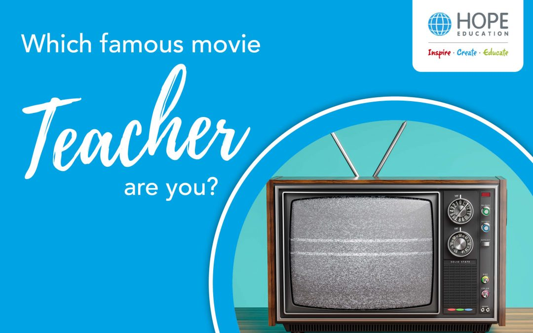 Quiz: Which famous movie teacher are you?