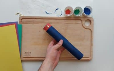 Craft: How to make a cardboard telescope