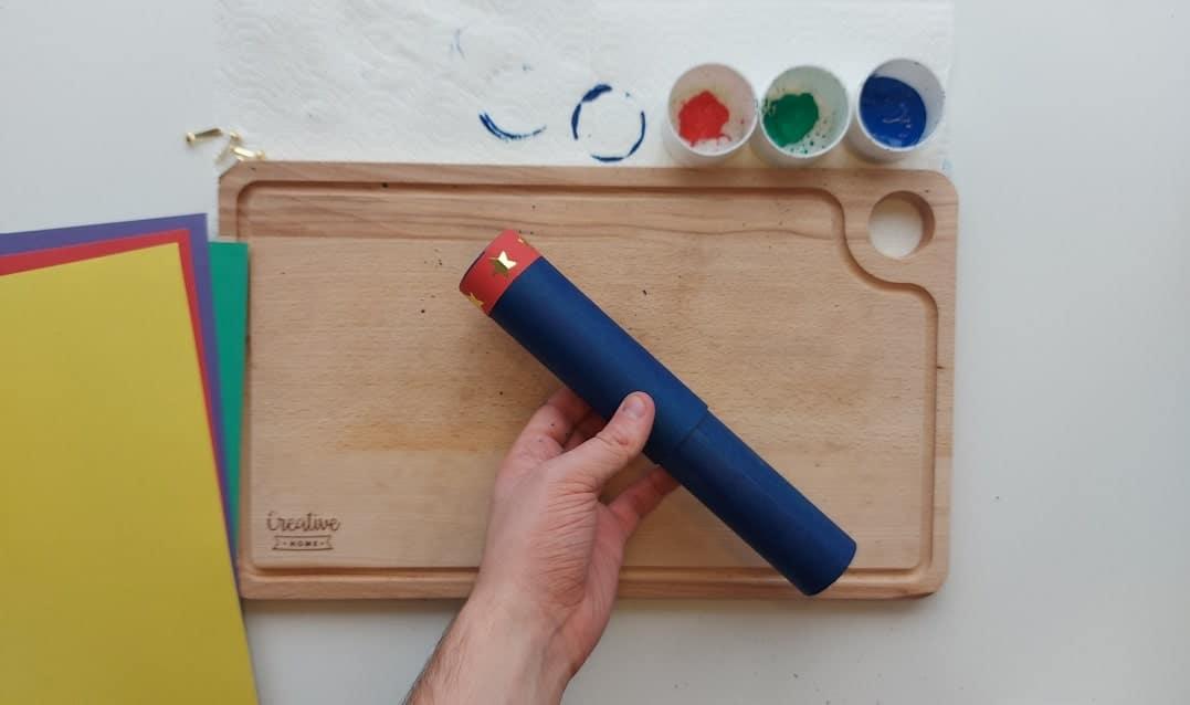Craft: How to make a cardboard telescope