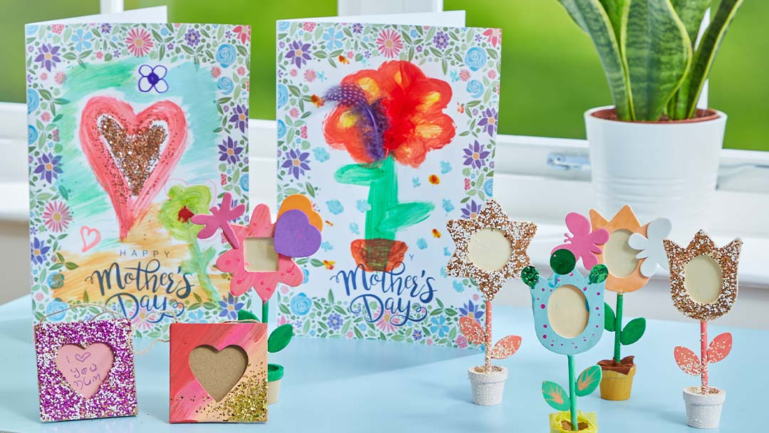 Make Mother's Day simple: 3 Quick and creative crafts!