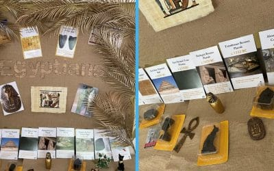 Step-by-step guide: How to make an Ancient Egyptian classroom display