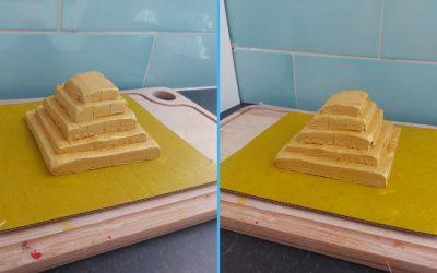 Craft: How to make a pyramid