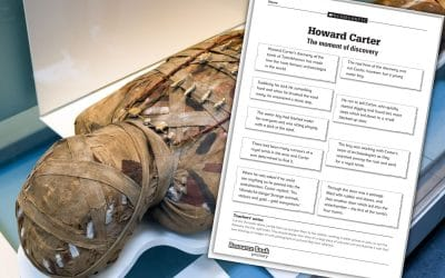Ancient Egyptian resource: Howard Carter and the discovery of Tutankhamun