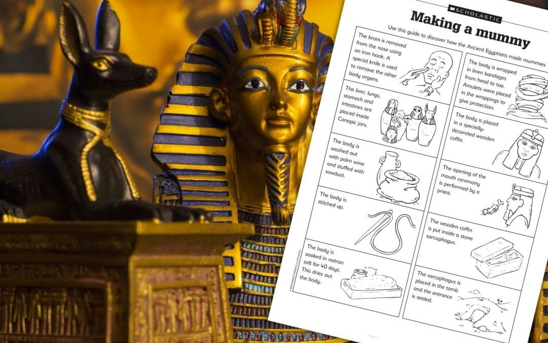 Resource: How the Ancient Egyptians made mummies