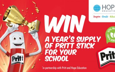 Win a year's supply of Pritt Stick glue for your school