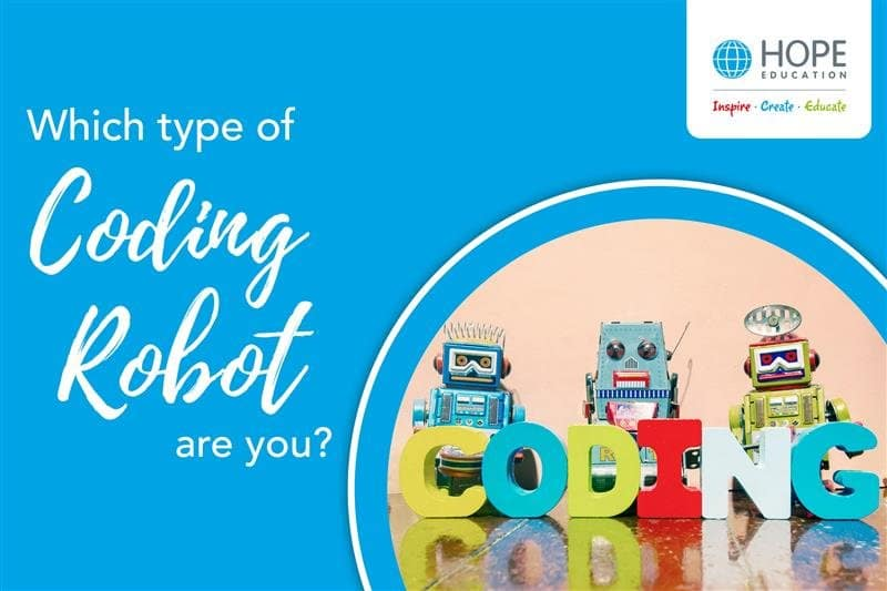 Quiz: Which type of coding robot are you?