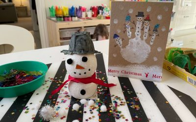 Classroom craft: Recycled Christmas Crafting